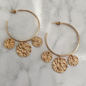 The Disc Earrings