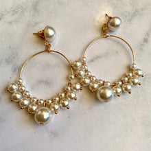 Load image into Gallery viewer, Pearl Drop Earring
