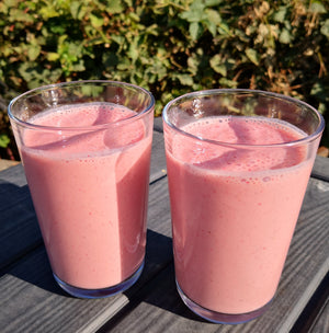 Divine Raspberry Mousse Smoothies