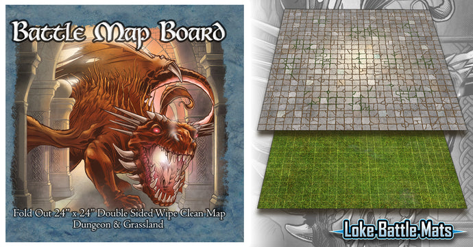 Introducing the Dungeon & Grassland Battle Map Board!