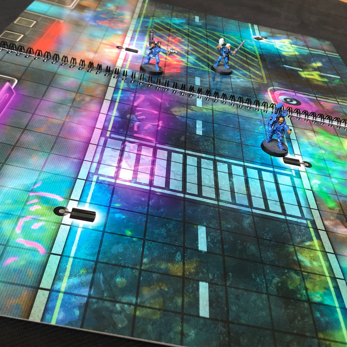Loke BattleMats Launch CyberPunk Book Range