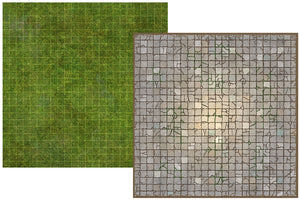 Battle Map Board - Dungeon & Grassland