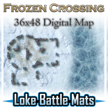 Load image into Gallery viewer, Frozen Crossing - Digital Map