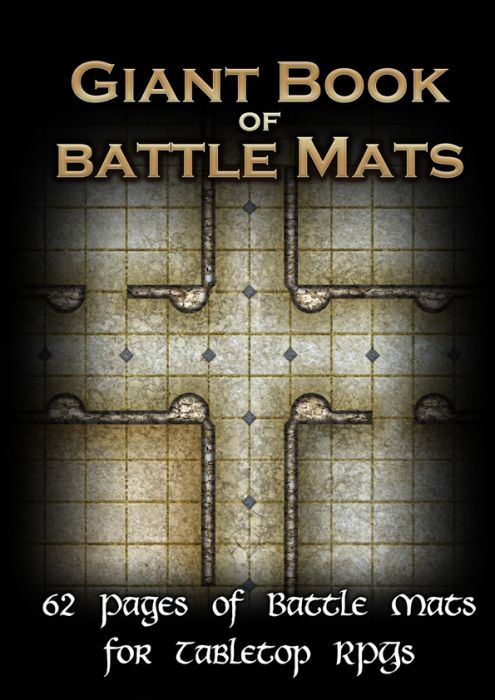 The Giant Book of Battle Mats (A3 12x16