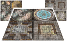 "Load image into Gallery viewer, The Dungeon Books of Battle Mats (Two book set. 12x12"")"