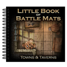 "Load image into Gallery viewer, Little Book of Battle Mats - Towns & Taverns Edition (6x6"")"