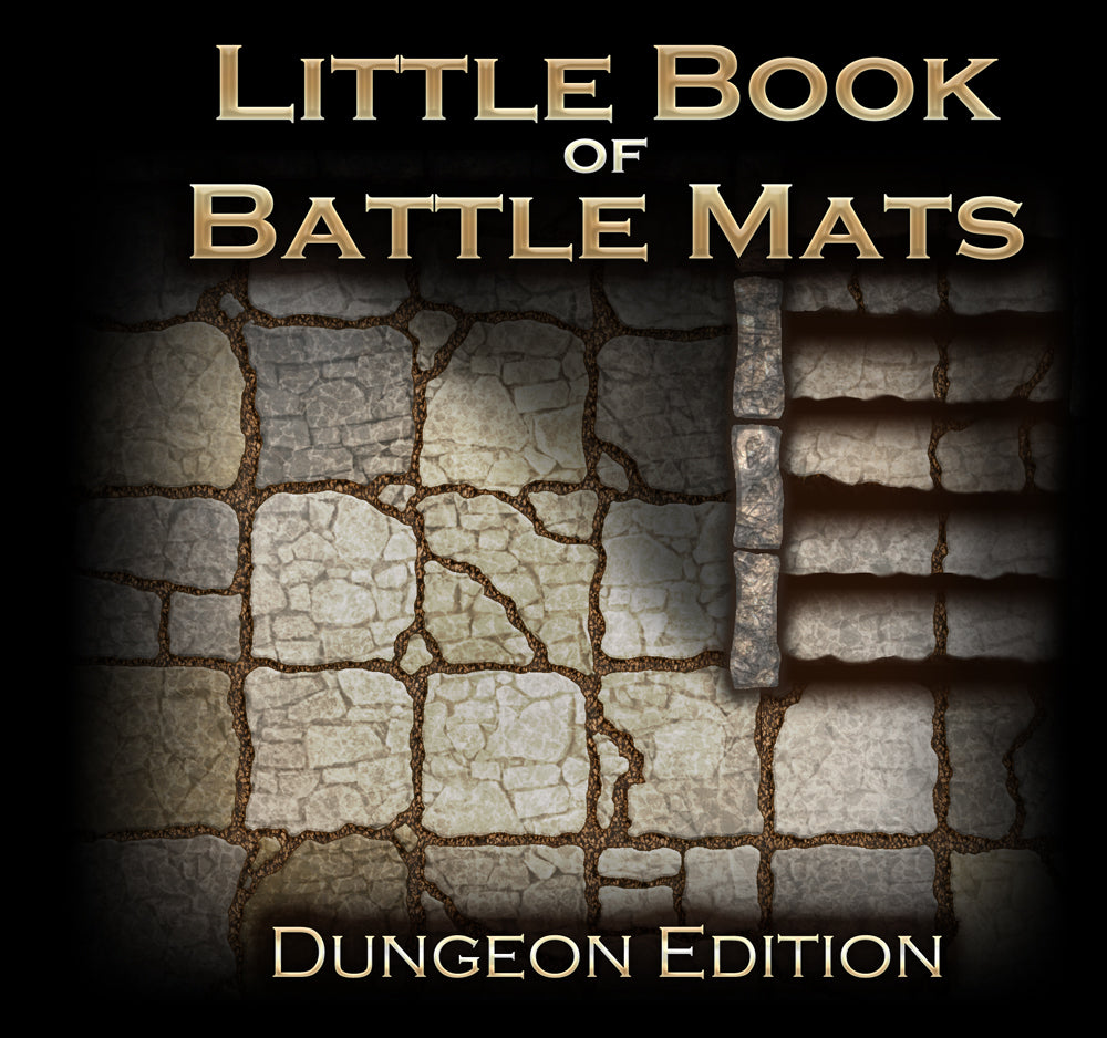 The Little Book of Battle Mats - Dungeon Edition (6x6