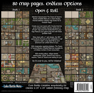 Towns & Taverns Books of Battle Mats
