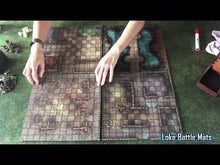 "Load and play video in Gallery viewer, The Dungeon Books of Battle Mats (Two book set. 12x12"")"