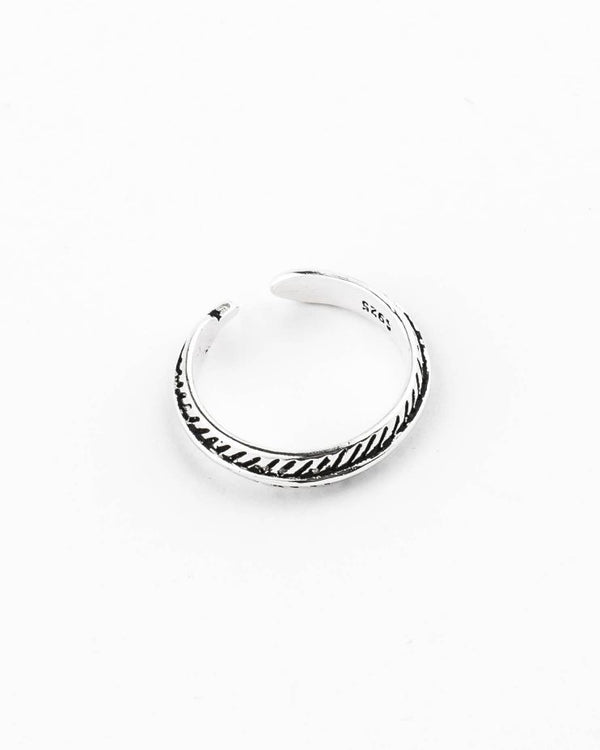 925 Silver Plated Ring  made in Portugal