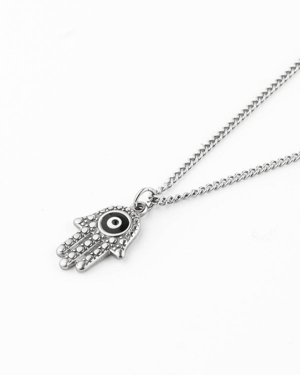 Collar De Acero Inoxidable - Hamsa