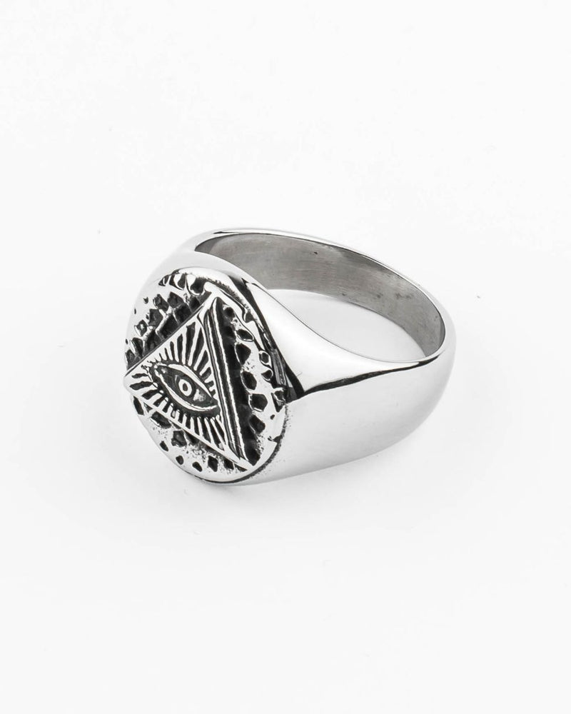 Stainless Steel Ring - Horus II