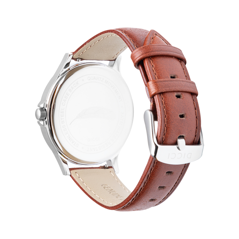 Brown Leather Strap for Men