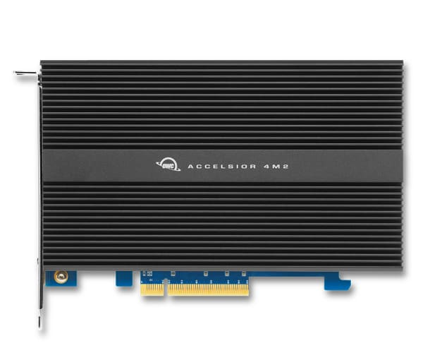 2GB High-Performance PCIe SSD solution OWC Accelsior 4M2 Apple compatible
