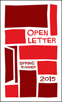 Open Letter 2015 Spring/Summer Catalog