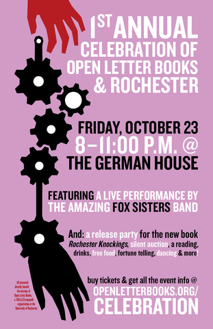 1st Annual Celebration of Open Letter Books & Rochester