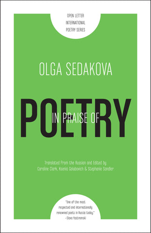 In Praise of Poetry