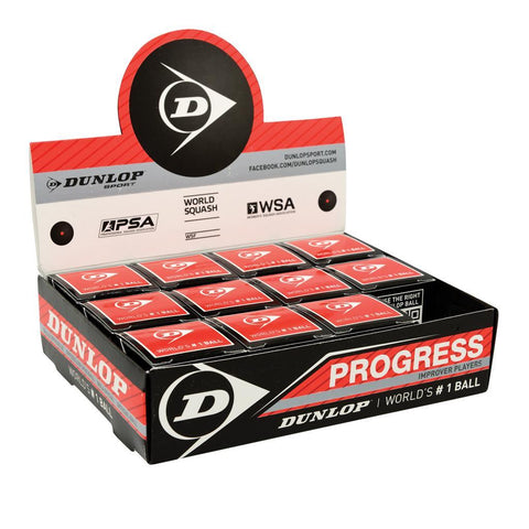 Progress Squash Balls - 12er Box