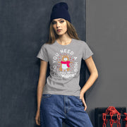 Hug Full of Compassion Women's short sleeve t-shirt - Pursuing Compatibility