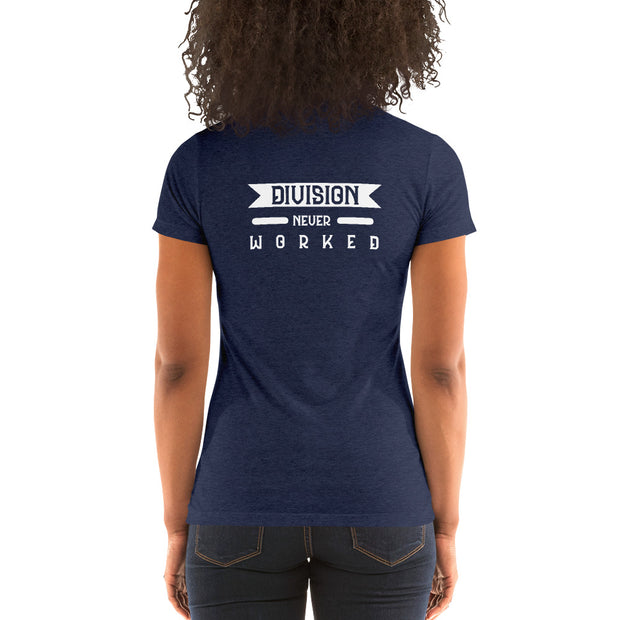 Unification Style 2 Ladies' short sleeve t-shirt - Pursuing Compatibility