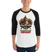 Bringing Back Chivalry 3/4 sleeve raglan shirt - Pursuing Compatibility