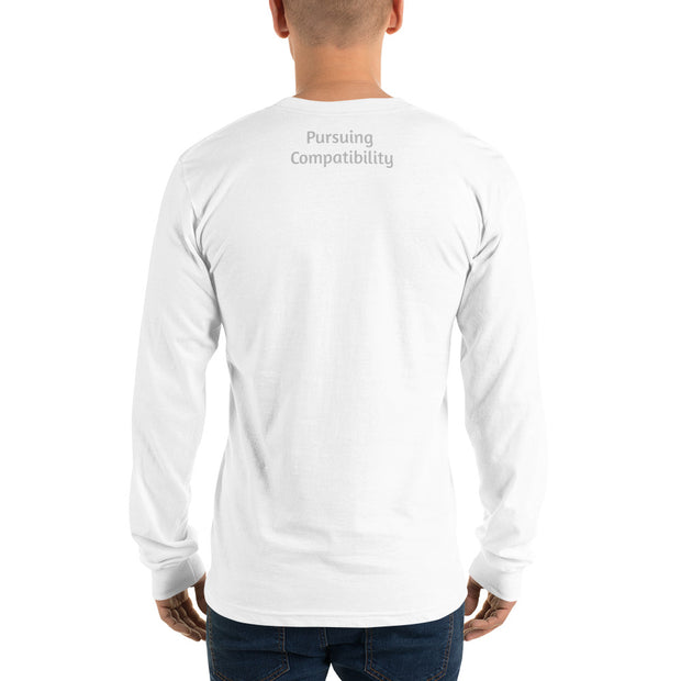 Dog Dressed Up Long sleeve t-shirt - Pursuing Compatibility