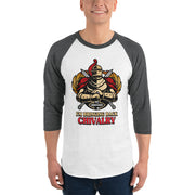 Buy online High Quality Bringing Back Chivalry 3/4 sleeve raglan shirt - Pursuing Compatibility