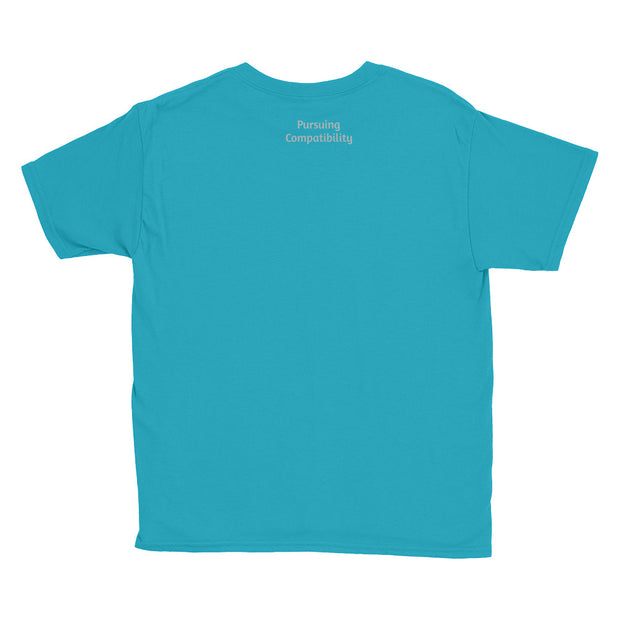 Bringing Back Chivalry Youth Short Sleeve T-Shirt - Pursuing Compatibility