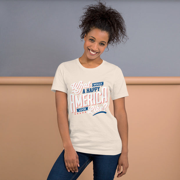 Vote 4 Positive Short-Sleeve Unisex T-Shirt - Pursuing Compatibility