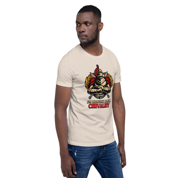 Bringing Back Chivalry Short-Sleeve Unisex T-Shirt - Pursuing Compatibility