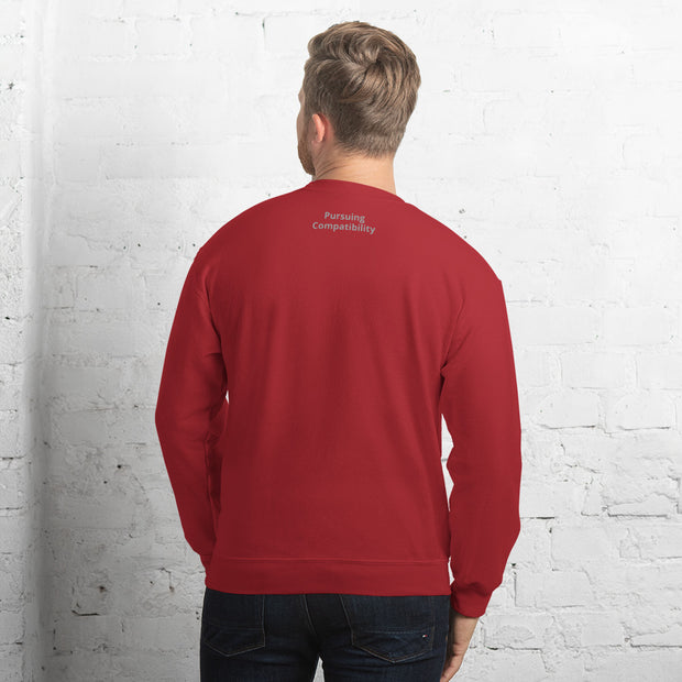 Bringing Back Chivalry Unisex Sweatshirt - Pursuing Compatibility