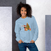 Christmas Dog Dressed Up Unisex Sweatshirt - Pursuing Compatibility