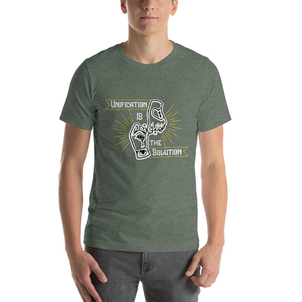 Unification Style 2 Short-Sleeve Unisex T-Shirt - Pursuing Compatibility