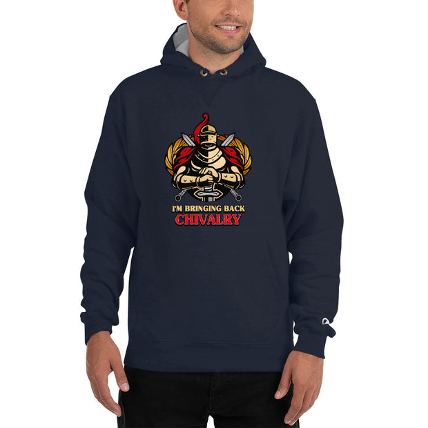 Bringing Back Chivalry Champion Hoodie - Pursuing Compatibility
