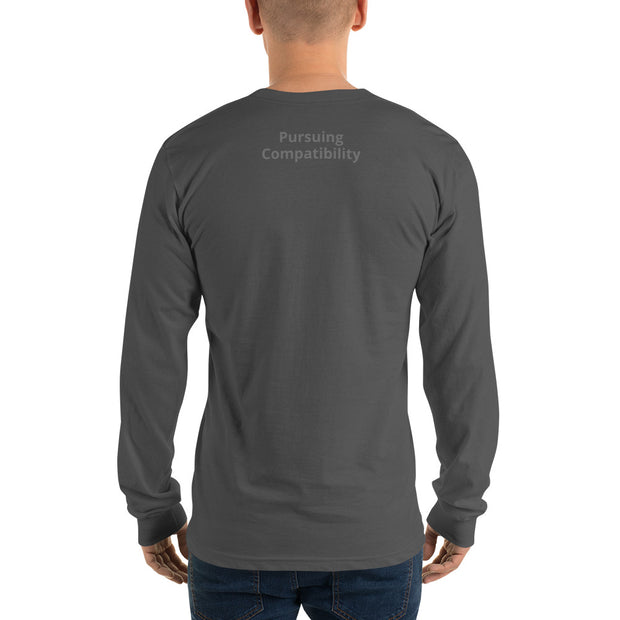 Bringing Back Chivalry Long sleeve t-shirt - Pursuing Compatibility