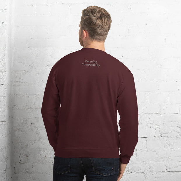 Unisex Sweatshirt - Pursuing Compatibility
