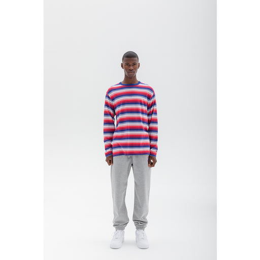 UNDEFEATED SHADOW STRIPE L/S TEE