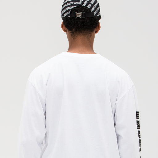 UNDEFEATED REFLECTIVE REPEAT STRAPBACK - BLACK Image 7