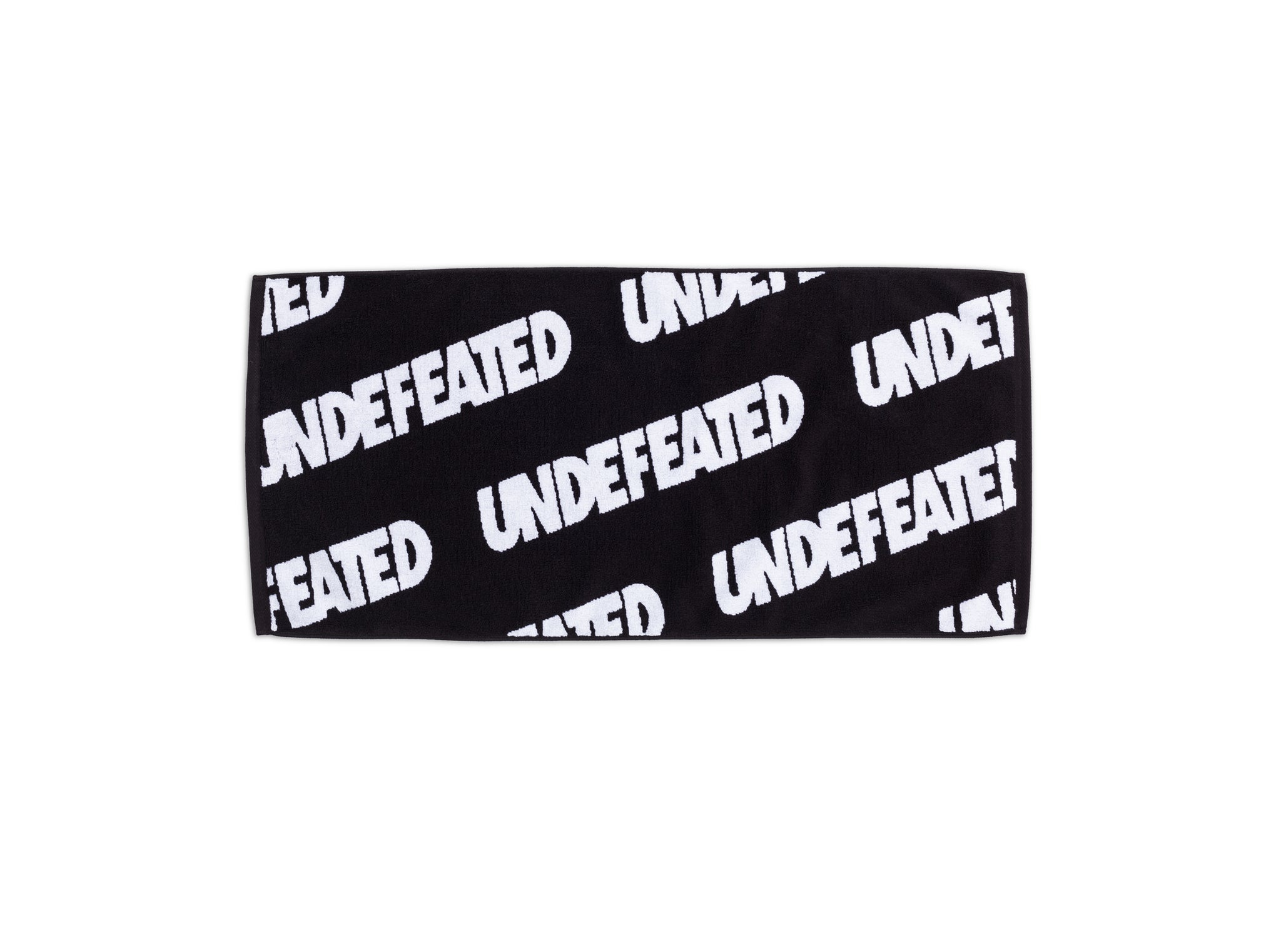 UNDEFEATED REPEAT HAND TOWEL - BLACK/WHITE