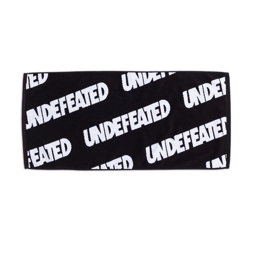 UNDEFEATED REPEAT HAND TOWEL - BLACK/WHITE Image 1