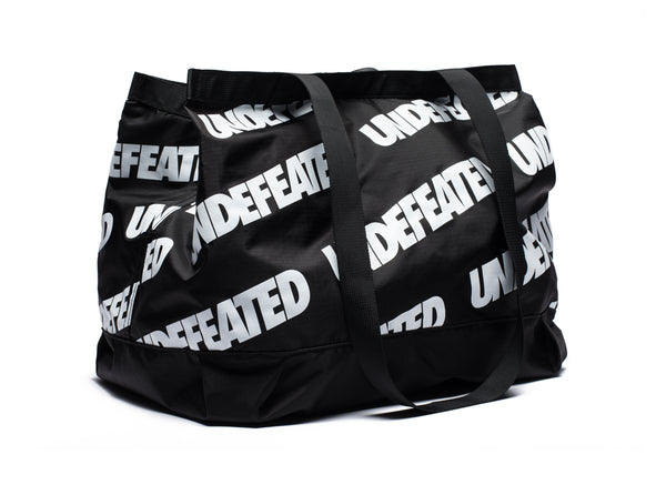 fc0dcea08a0664 UNDEFEATED REPEAT TOTE BAG - BLACK WHITE