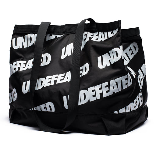 UNDEFEATED REPEAT TOTE BAG - BLACK/WHITE