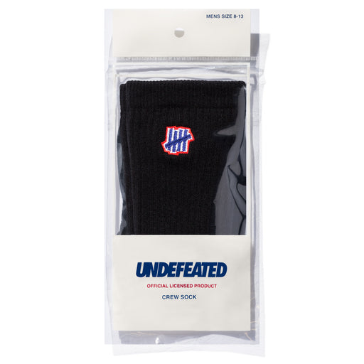 UNDEFEATED 5 STRIKE SOCK - CREW Image 4