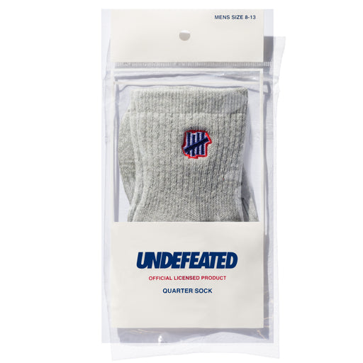 UNDEFEATED 5 STRIKE SOCK - QUARTER Image 9