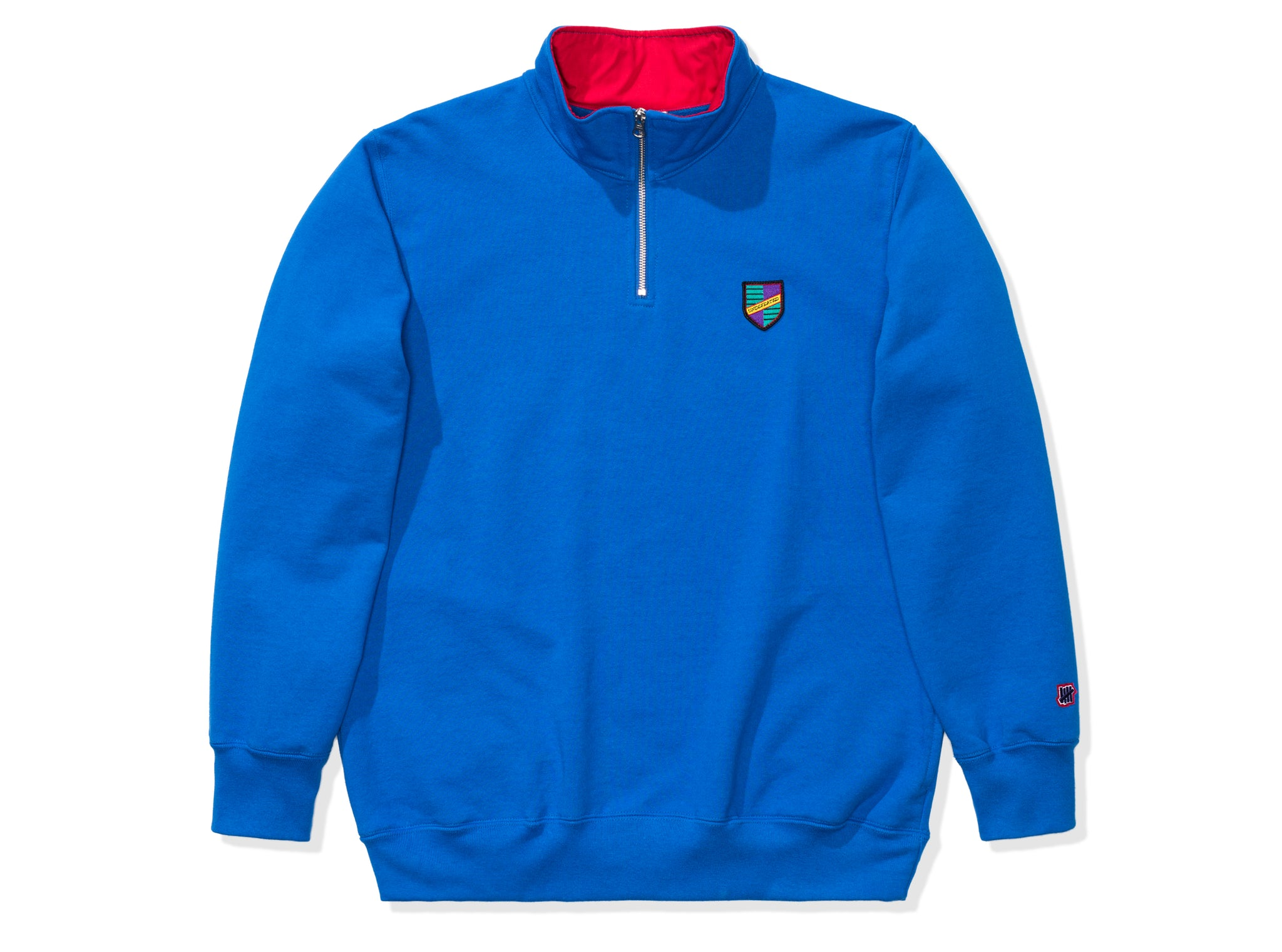 UNDEFEATED CREST QUARTER ZIP PULLOVER