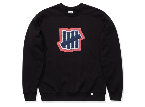 b5a2e9e2 UNDEFEATED STITCH PRINT CREWNECK