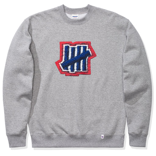 UNDEFEATED STITCH PRINT CREWNECK Image 1