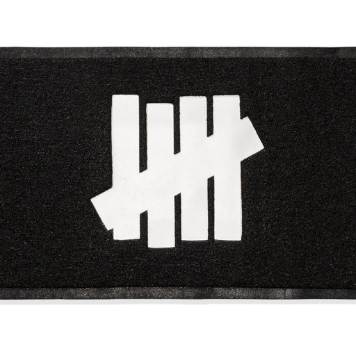 UNDEFEATED ICON DOOR MAT - BLACK Image 1