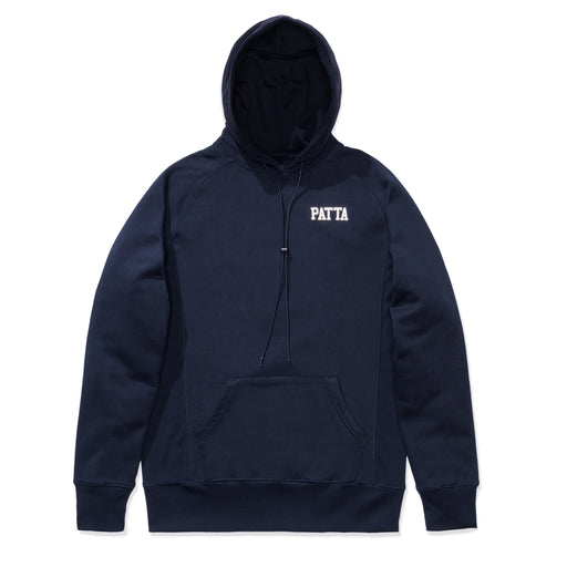 PATTA MILITARY HOODED SWEATER - NAVY BLAZER