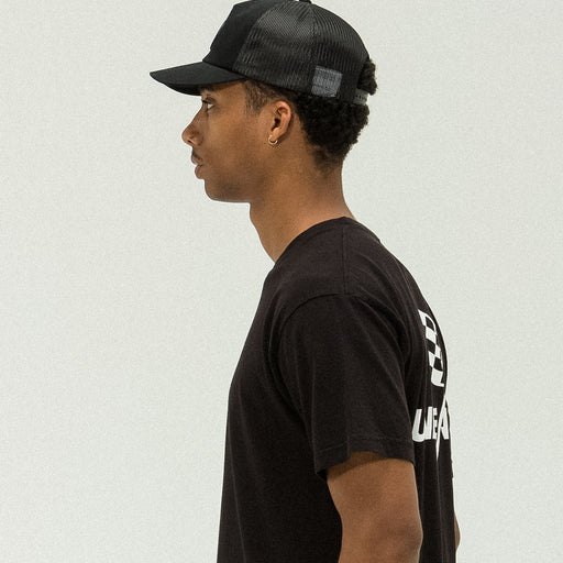 UNDEFEATED ROSE TRUCKER - BLACK Image 5